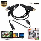 MHL Micro USB to HDMI 1080P Media HD TV HDTV Cable Adapter Cord Lead for Android