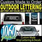 REVERSE WINDOW LETTERING for Vehicles, Glass Doors & Windows, Windsheilds