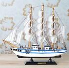 New Wooden Ship Model Pirate Sailing Boats Home Decor
