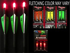 """NEW 3 VICTORY CROSSBOW ARROWS / BOLTS with 3 RED LIGHTED NOCKS  20"""" or 22"""""""