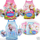 Girls Apron Frozen Elsa waterproof cooking chef painting art craft apron smock