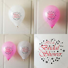 8x BRIDAL SHOWER quality latex balloon wedding party celebration decoration f