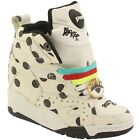 $225 Reebok x Melody Ehsani Women Blacktop Pump Wedge white chalk black M48395