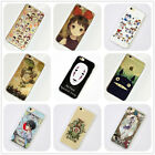 Studio Ghibli Anime Manga iPhone 4s 5s 5c 6 6s Plus Case Silicone TPU Free Ship