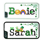PERSONALIZED ST PATRICKS DAY RUBBER CASE iPHONE 6 6s or 6 6s Plus CUSTOM NAME
