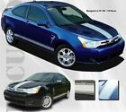 08-10 Ford Focus New Focused Vinyl Rally Stripe Graphic Kit