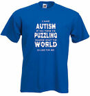 Autism Kids T-shirt, Have Autism, Imagine what world is like for me.