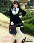 Japanese  Gothic Lolita Vintage Lace Note Princess Dress Two Style