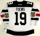 JONATHAN TOEWS CHICAGO BLACKHAWKS 2016 STADIUM SERIES REEBOK NHL PREMIER JERSEY