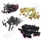 Brand New 4.5mm Micro Screw Rings for Hair Extension 4 Colours
