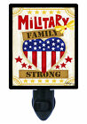 Night Light - Military Strong - Family - Patriotic - Support - Heart