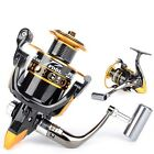 New Metal Spinning Reel Roller Rod fishing feeder carp gear tackle Black Strong