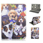 """Cute Puppy Folio Leather Rotating Stand Case for Google Nexus 7 4G LTE 7"""" 7inch"""