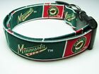 Charming Handmade Minnesota Wild Hockey Standard Dog Collar $10.95 USD on eBay