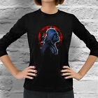 New Star Wars Darth Vader Empire Geek Women Long Sleeve Dark Black T-Shirt