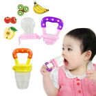 Baby Food Nipple Feeder Silicone Pacifier Fruits Meat Feeding Cute toys  IDM