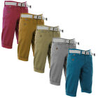 Smith & Jones Lancaster Belted Summer Chino Shorts  Mens Size