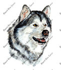 Alaskan Malamute Sled Alaska State Dog Auto Boat RV Camper Window Decal Sticker