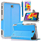 Slim Smart PU Leather Book Case Cover For Samsung Galaxy Tab 4 8.0 8'' inch T330
