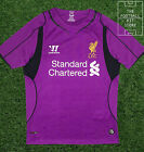 Liverpool Goalkeeper Shirt - Official Warrior Football Shirt - Boys - All Sizes