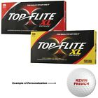 Top-Flite XL Distance Personalized Golf Balls - 18 Balls per Box