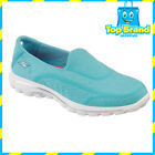 BRAND NEW - Skechers 13947 Go Walk Womens Casuals slip on shoes - ALL SIZES aqua