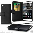 PU Leather Wallet Flip Case Cover Protector in Book Style FOR Huawei P8 LITE