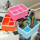 Storage Box Stand Holder Cell Phone Remotes Control Pens Cosmetic Case Useful