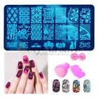 Stamping Large DIY Lace Image Template Manicure Nail Art Image Stamp Plates