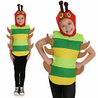 Childrens The Very Hungry Caterpillar Fancy Dress Costume Book Week 4-12 Yrs