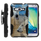 Galaxy J3 |Amp & Express Prime|  Rugged Holster Clip Heavy Duty Case Animals