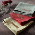 Linen Cotton Table Mat - 3 Colors PlacematsTable runner Kitchen Mats Dining Mats