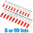 5 or 10 Sets 2 Pin JST Connector Male Female & Plated Pins for Crimping - RC BEC