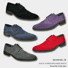 BRAVO Men Dress Shoe KING 3 Classic Faux Suede Oxford with Leather Lining