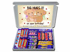 BIG TEDDY HUGGIES HAPPY BIRTHDAY GIFT HAMPERS Chocolate or Sweets *