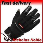 Richa City GTX Black Gore-Tex Leather and Textile Thermal Gloves