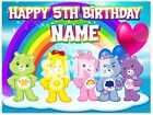 Care Bears Icing Birthday Edible Image Cake Topper Personalized Frosting SheetS