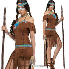 CL760 Medicine Pocahontas Native American Indian Wild west Fancy Dress Costume
