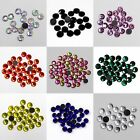 New 1440p Round Crystal Glass DMC Hotfix Rhinestones Flatback Iron on Strass DIY