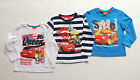 DISNEY CARS LONG SLEEVE SHIRT PULLOVER BOY SIZE 98 104 116 128