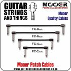 """Mooer  PATCH LEADS quality 2"""" 4"""" 6"""" 8"""" patch cables"""