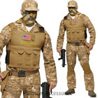 CL780 Seal Team Navy Army Costume Mens Soldier Military Uniform Halloween Outfit