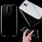Silicone TPU Clear Transparent Ultra Thin Soft Case Cover For Samsung Galaxy