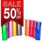 Candy Metallic gloss vinyl wrap multi sizes air bubble free colours