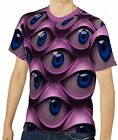 Psychedelic Eyes Men's Clothing T-Shirts S M L XL 2XL 3XL