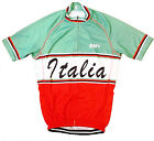 ITALIA TRICOLORE RETRO VINTAGE CYCLING BIKE JERSEY by SM+ Sportswear