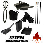 FIRESIDE/FIREPLACE ACCESSORIES - GOOD VALUE, CAST IRON TONGS, POKERS & MORE