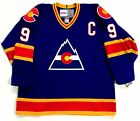 LANNY MCDONALD COLORADO ROCKIES CCM VINTAGE JERSEY WITH C NEW WITH TAGS