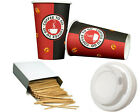 Kaffee Hartpapier + Deckel Coffee to go Becher 0,2l/0,3l Pappbecher Kaffeebecher