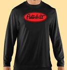 T-Shirt, Long Sleeve, Trucking, Motor Sports, Peterbilt Truck, Gildan 100%Cotton image